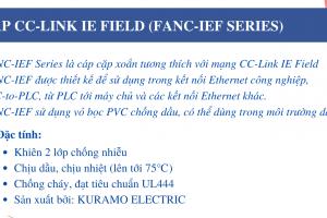 (Tiếng Việt) CÁP CC-LINK IE FIELD (FANC-IEF SERIES)