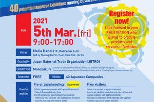 SEV attends JETRO Monozukuri Business Matching Exhibition 2021 in Hanoi